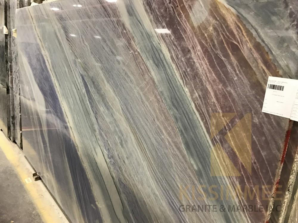 Quartzite – Azul Imperiale Slab-min